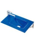 Lavabo Top azul Ref.: 7033