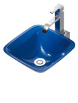 Lavabo RS azul Ref.: 7037